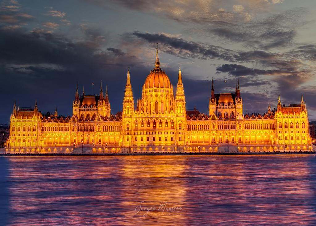 Boedapest, Parlementsgebouw - Budapest, Parliament.