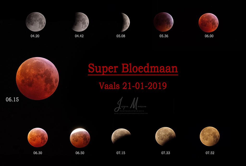 Super Bloedmaan 21Jan2019 - Super Blood Moon 21Jan2019.