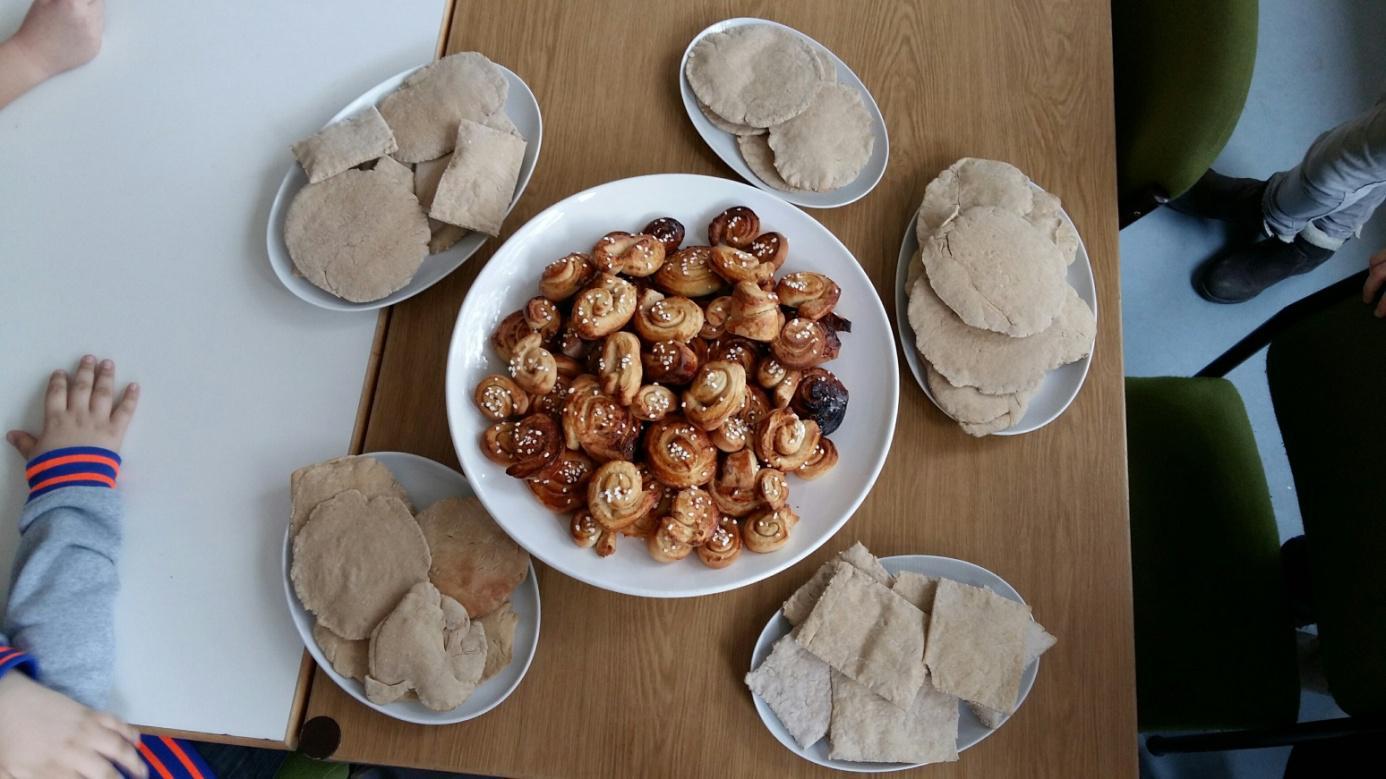 Außerdem wurden leckere schwedische Rezepte ausprobiert!