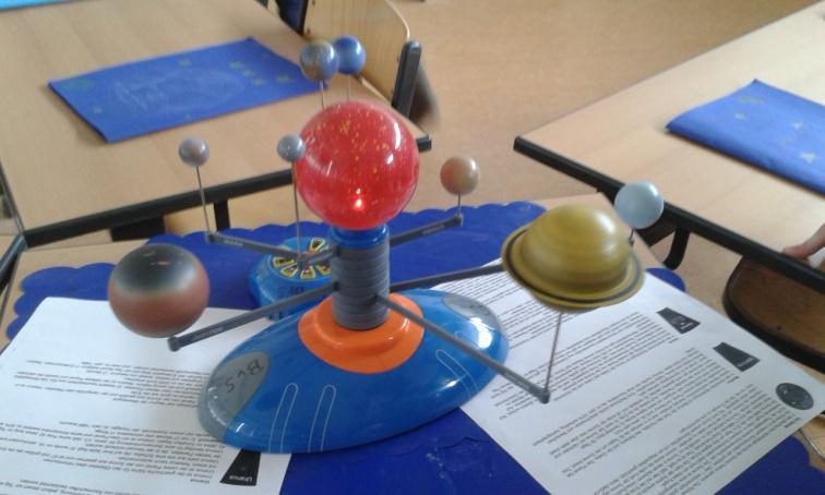 Planetenmodell aus der HWS-Sammlung