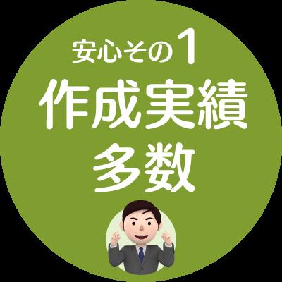 安心1.作成実績多数【新潟市就業規則作成センター】