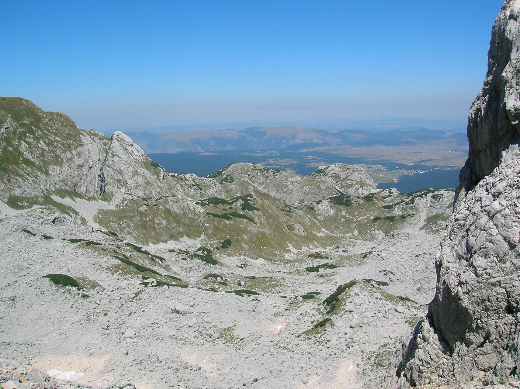 Blick vom Bobotov Kuk, Durmitor-Gebirge