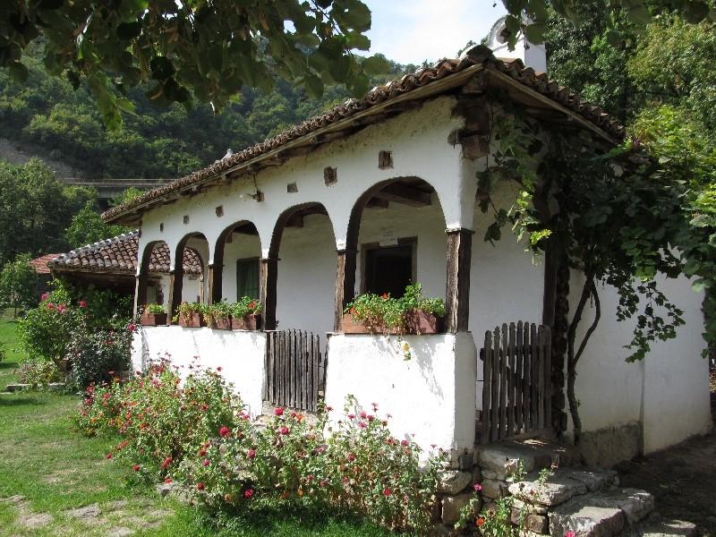 Altes Bauernhaus bei Lepenski Vir, Serbien