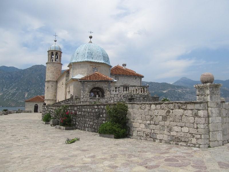 Gospa od Škrpjela, Bucht von Kotor, Montenegro