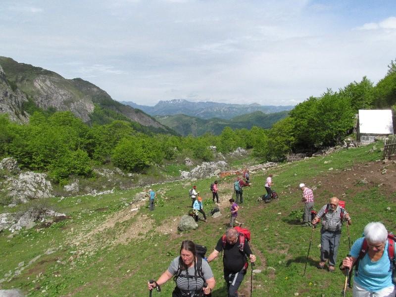 Aufstieg zum Ključ; Bjelasica, Montenegro