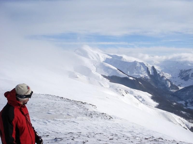 Die Schwarzen Berge ganz in Weiß im Durmitor-Gebirge