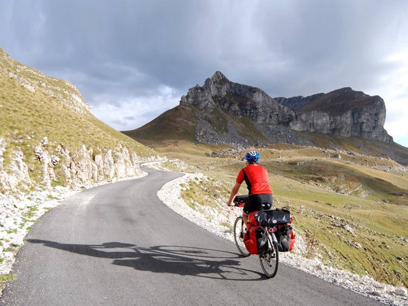 Biking im Durmitor-Gebirge