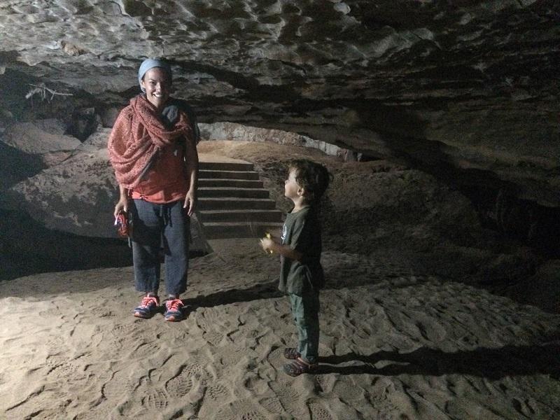 Dragon-Cave...weiter vorne musste sich Marisa auch bücken! ;-)