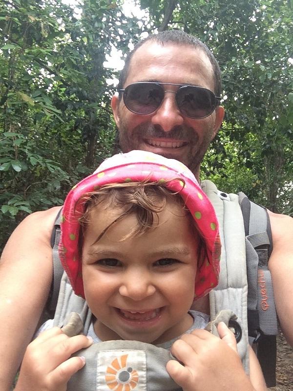 Täglicher 30 minütiger Walk durch den Dschungel zum Lazy Beach - Und zurück natürlich! ;-)