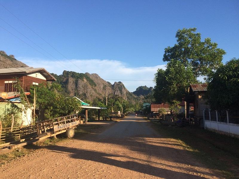 Im Dorf Ban Kong Lo