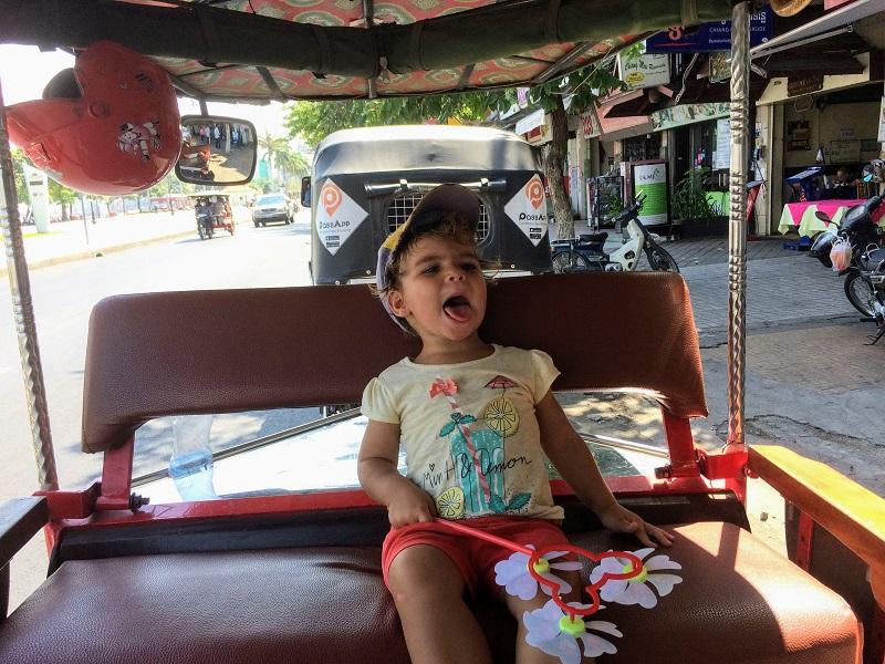 Tagesausflug mit dem TucTuc durch die Hauptstadt von China, ähhh Kambodscha!