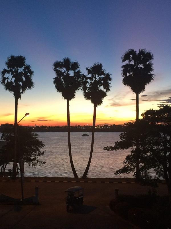 Ausblick vom Mekong Hotel