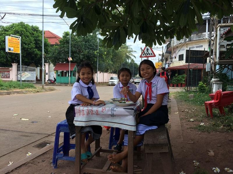 Die Kinder schenken einem immer ein Lächeln!