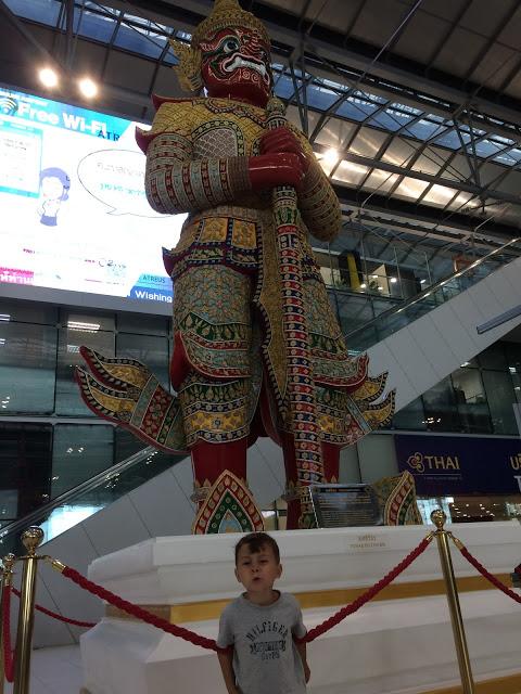 Flughafen Bangkok - 3h Aufenthalt