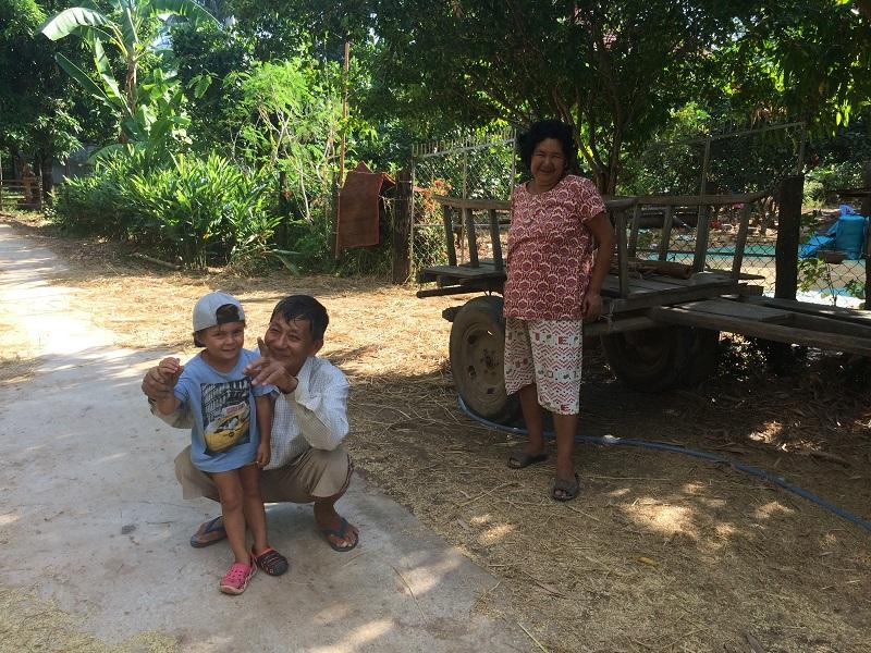 Im Gegensatz zum Süden, sind die Leute hier wie auch in Kratie und Phnom Penh viel freundlicher!
