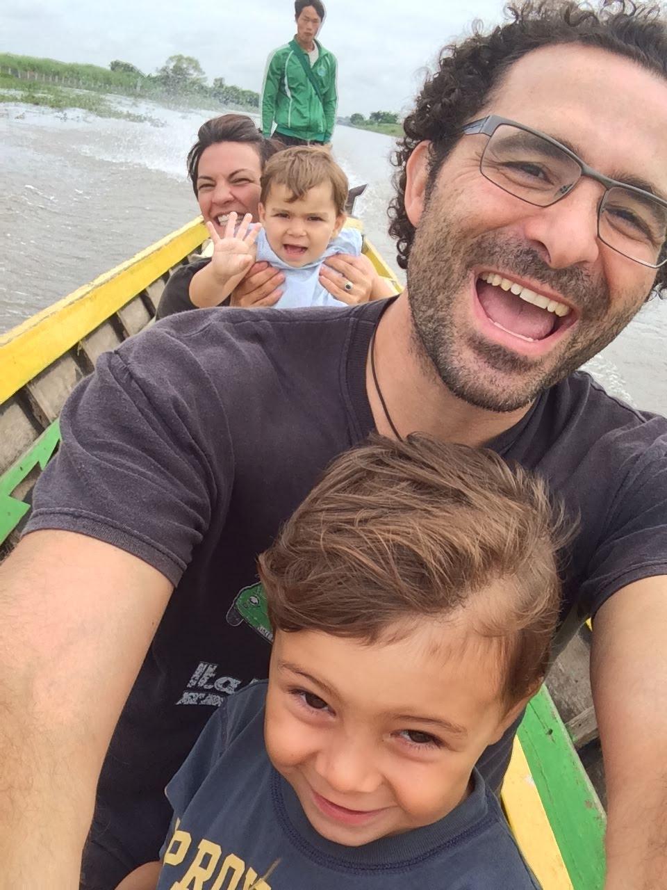 Die Bootsfahrt ist aber echt super!