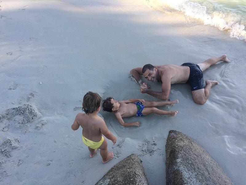 Unser eigener Pool am Strand! ;-)