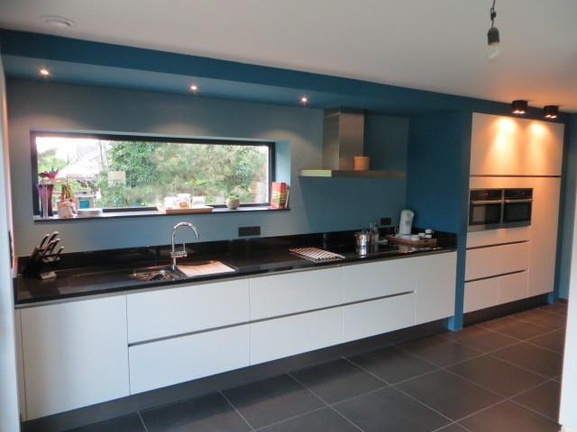 strakke keuken met Kuppersbusch toestellen
