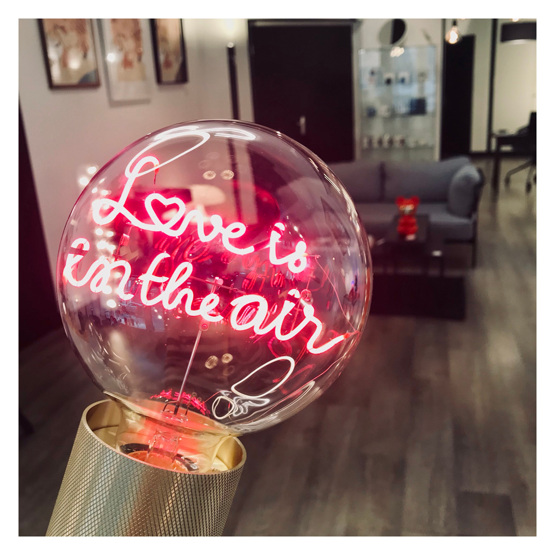 Ampoules à messages : Collection Saint Valentin