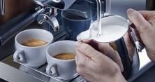 Die Gilda Kaffeemaschine ist dank Dualboiler blitzschnellen Milchschaum