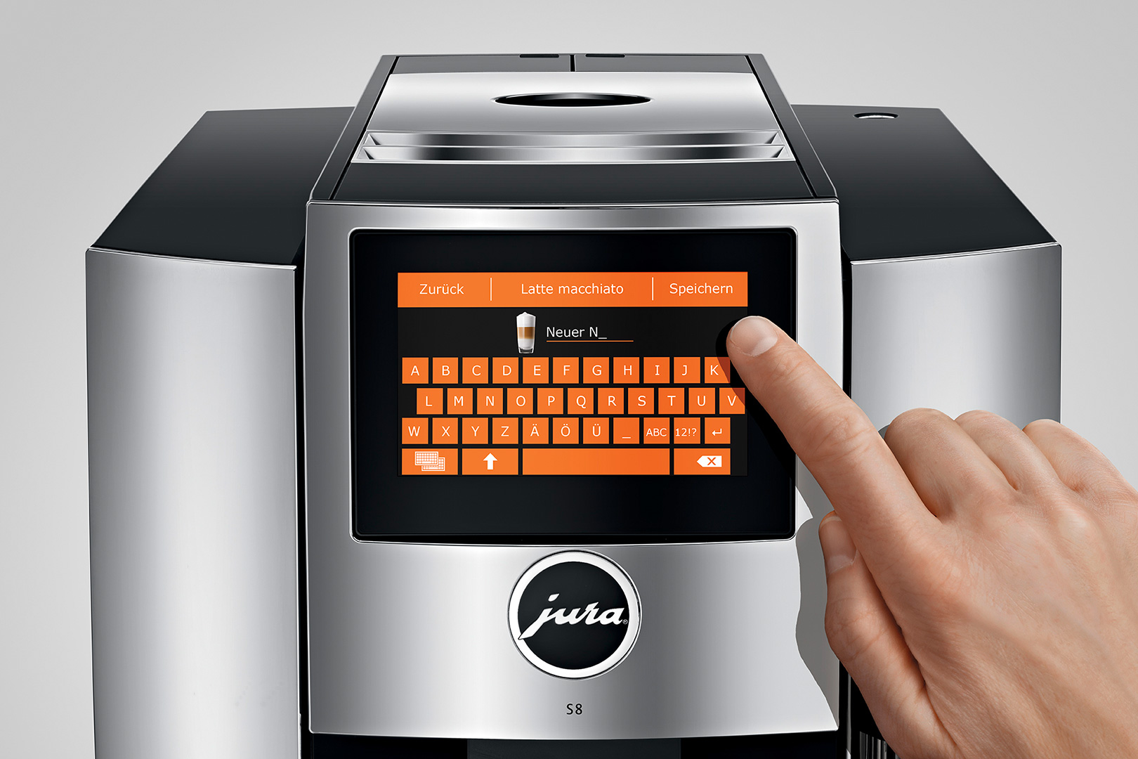 Jura S8 Kaffee-Vollautomat TFT