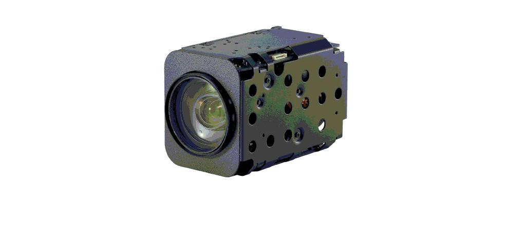 Caméras zoom x3 à x36, full HD, sorties LVDS, HD-SDI, AHD, Analog, IP, ...
