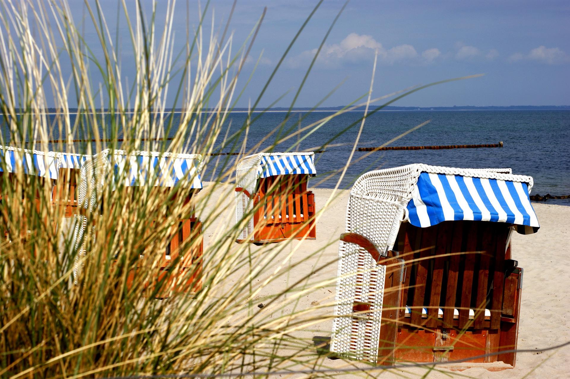Strandkorb nordsee wallpaper  Villa Rügen & Haus Anna - Urlaub an der Ostsee