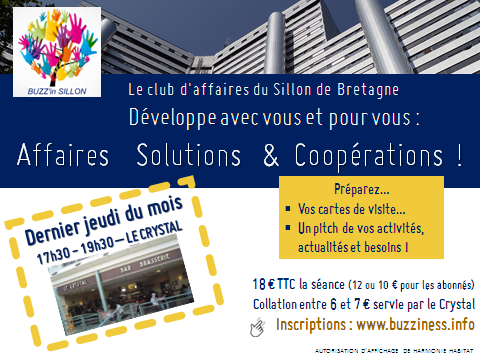 BUZZ'in SILLON - le club d'entrepreneurs au sillon de bretagne