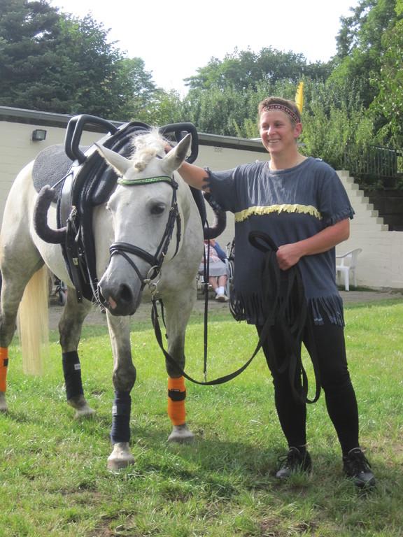 Birgit-vom Bodentrainer zum Indianer