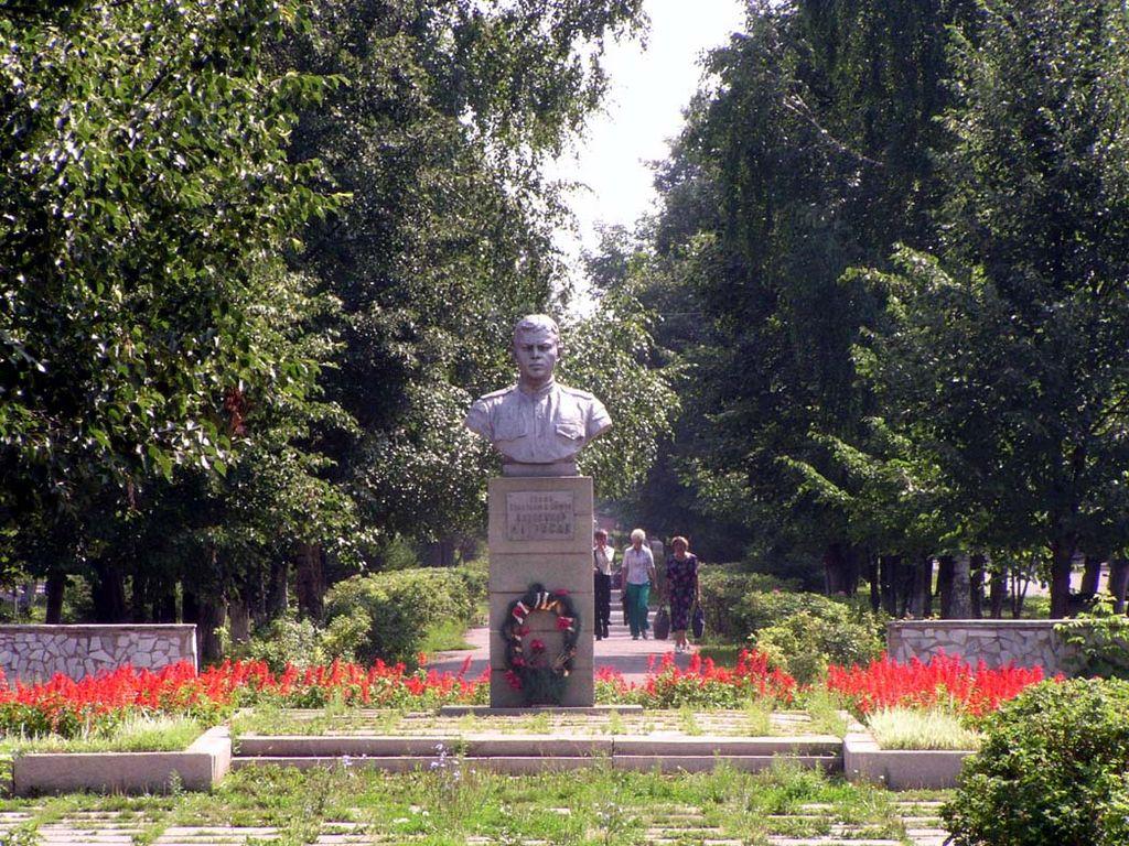 памятник А. Матросову