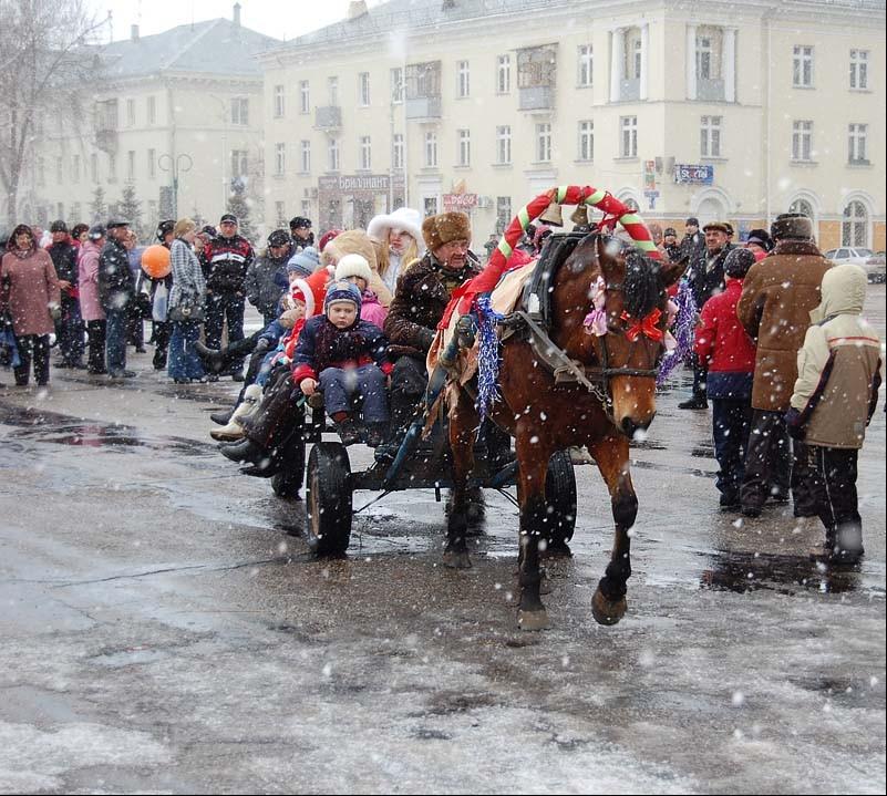 Проводы Зимушки-зимы. Автор Геннадий Павлович.