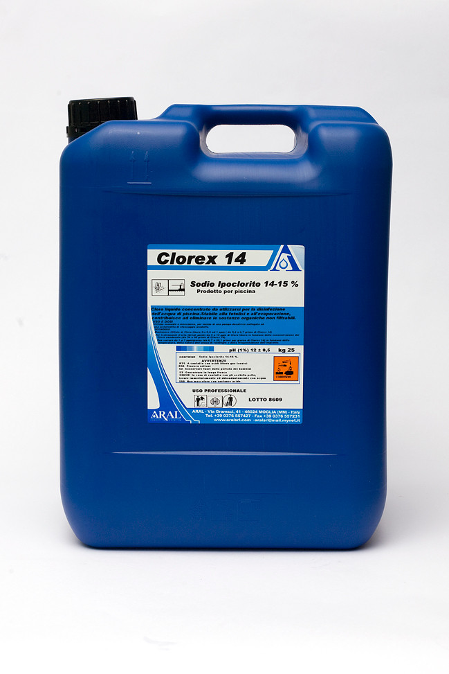 Prodotti chimici per piscine di cloro amazing piscine for Cloro per piscine