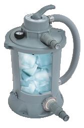 Sacco filtrante Pureflow per gruppo di filtrazione delle piscine