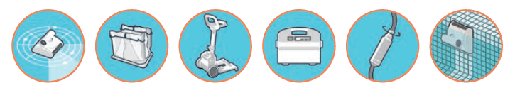 Robot per piscine Dolphin Pro Gyro 2x2