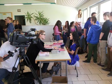 Bericht auf Tele Basel - Bild anklicken!