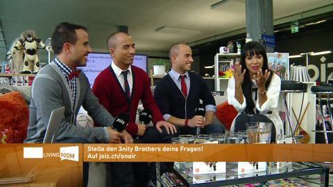 3nity Brothers LIVE bei JOIZ. Bild anklicken!