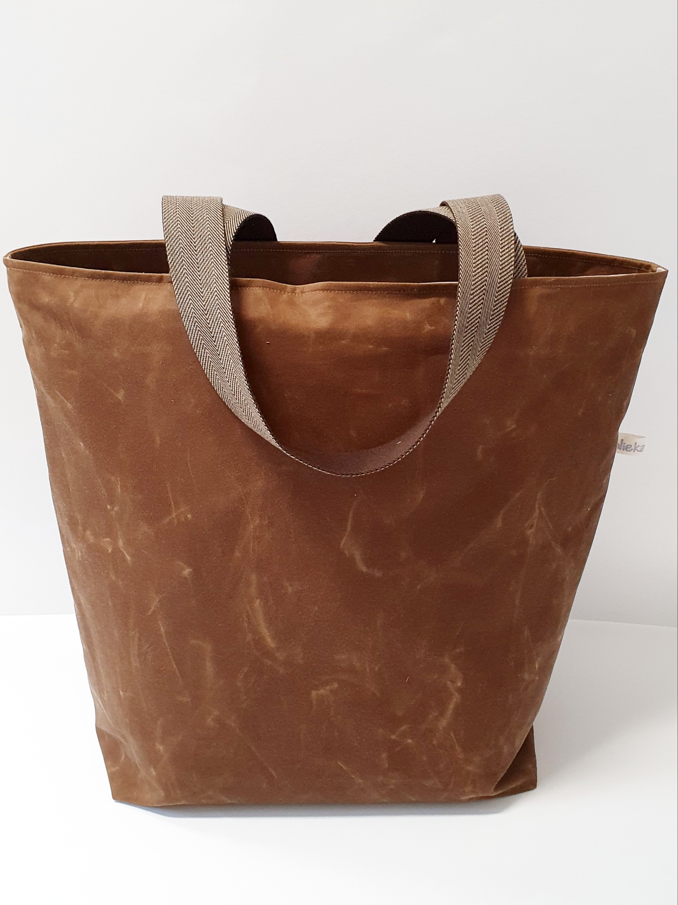 Shopper / Einkaufstasche Oilskin