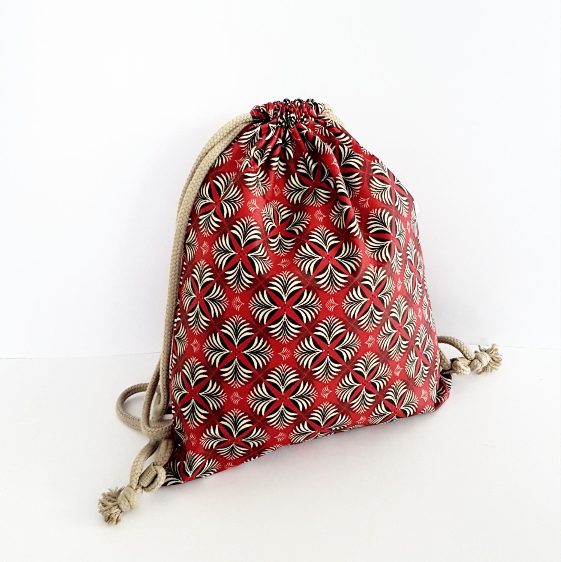 Rucki Zucki, Symmetie rot-beige-schwarz, verkauft