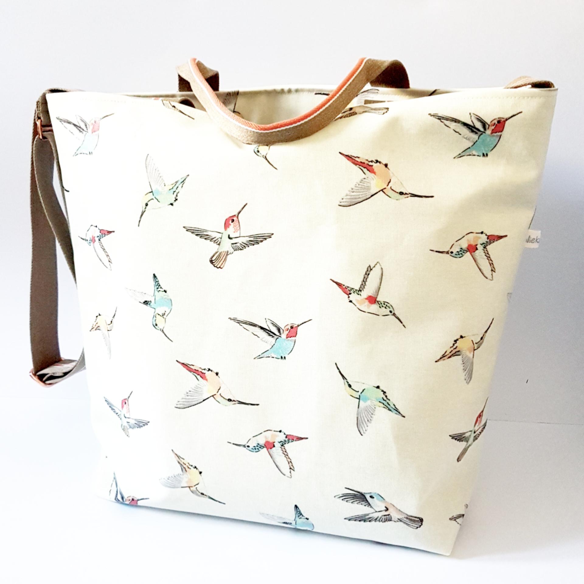 Shopper/Einkaufstasche Kolibris, verkauft