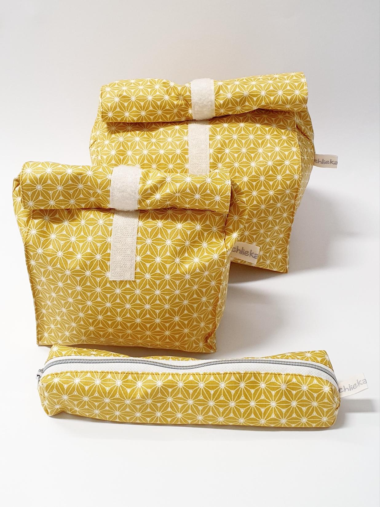 Lunch Bag und Etui für Besteck