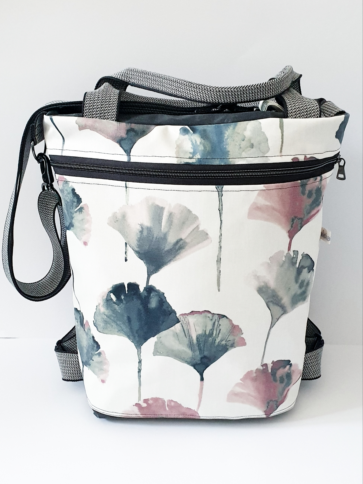 3in1 Bag L, Oilskin kombiniert mit Wachstuch, verkauft
