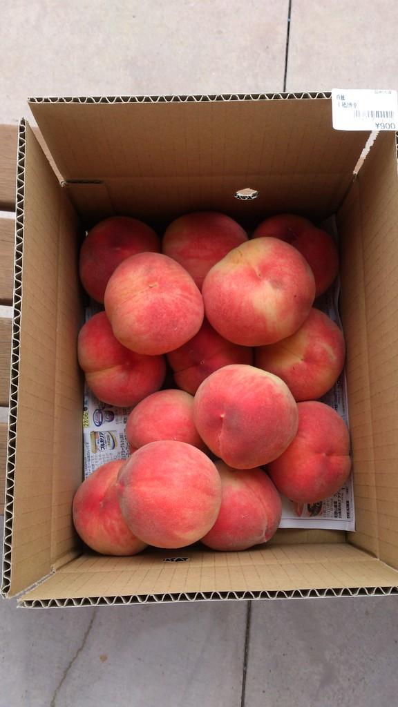 2013.7月毎年恒例の桃