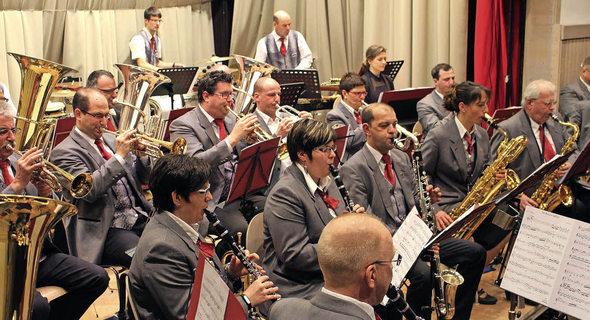 Jahreskonzert der Hebelmusik Hausen