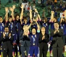 なでしこ、アジア杯優勝!