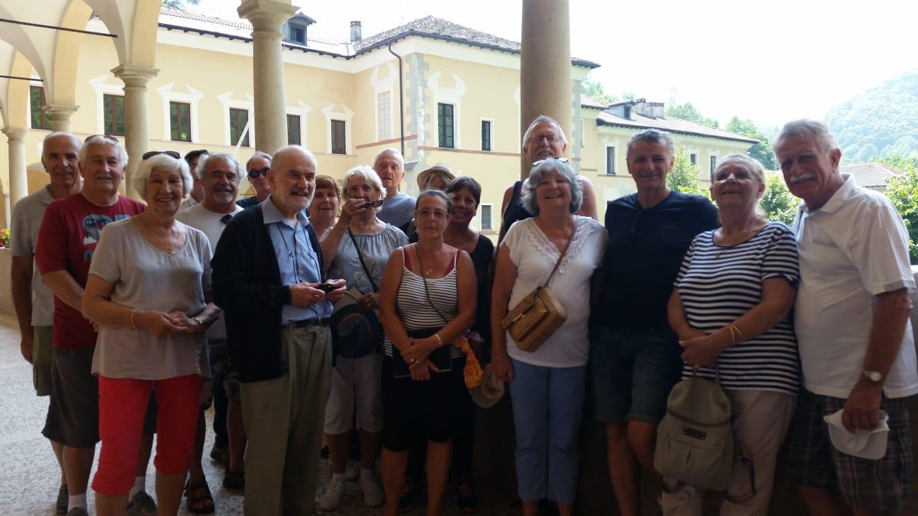 Photo du groupe avec notre guide.