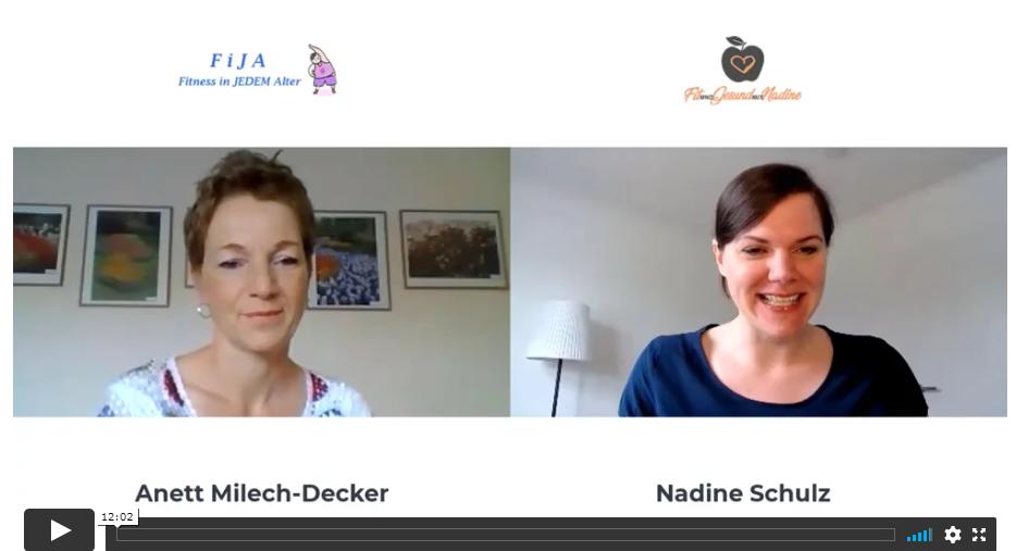Interview mit Anett Milech-Decker aus dem FiJA-Fitnessstudio in Schönberg