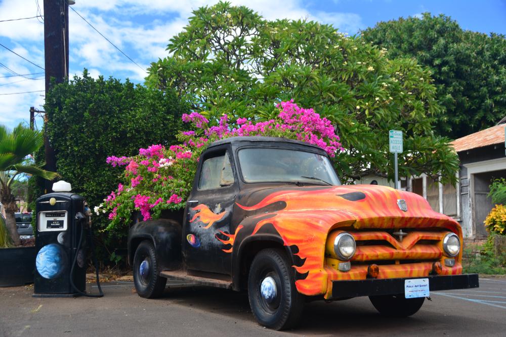 Flower Power Street Art