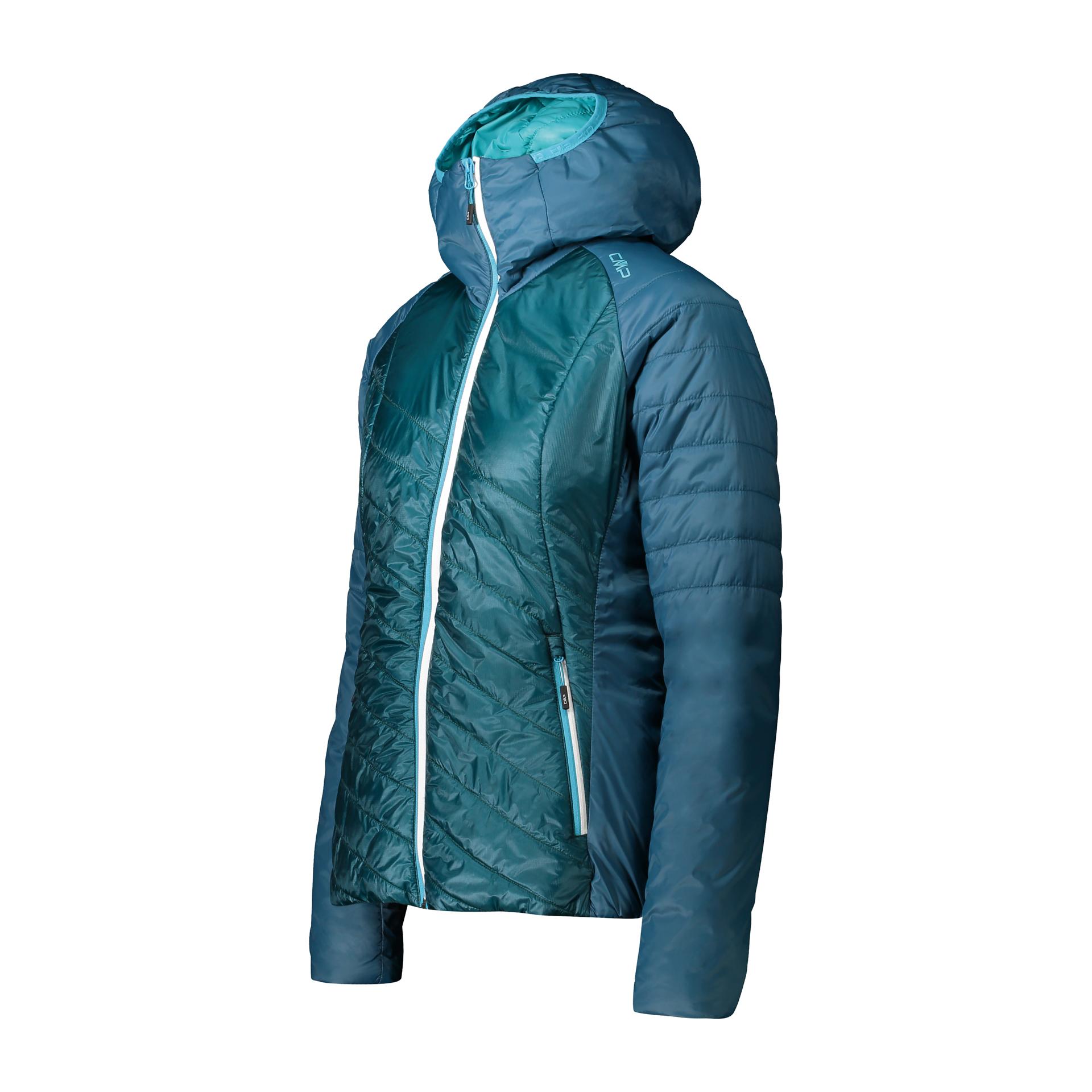 Jacke Hybrid Hoody Full Zip, CMP