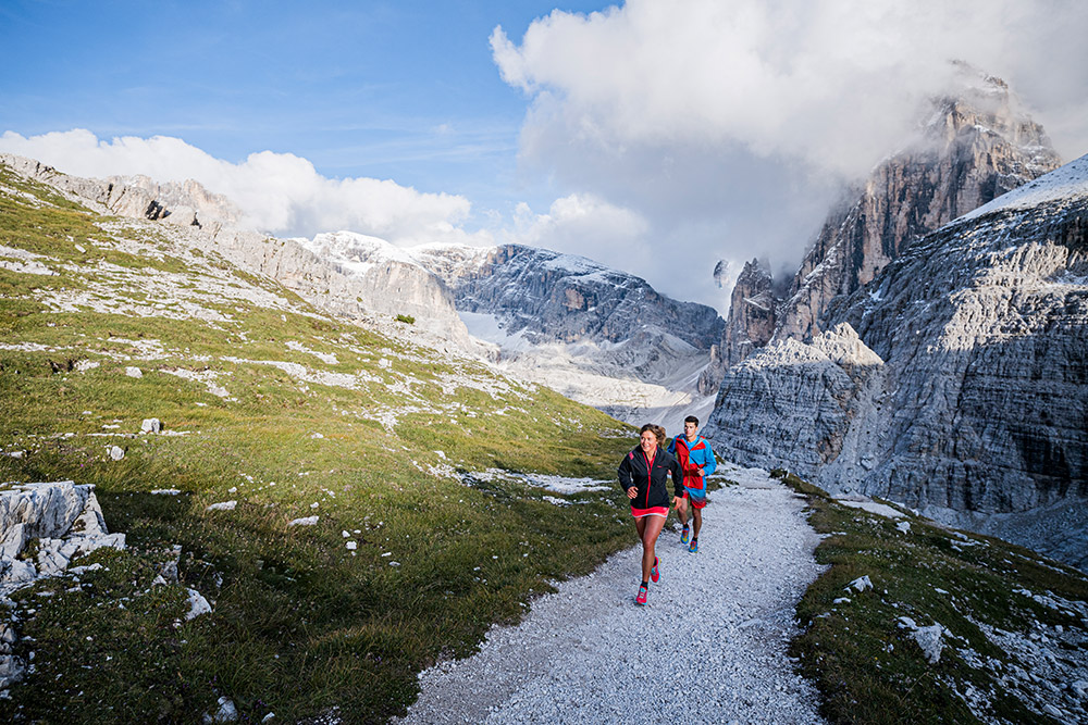 La Sportiva Mountain Running Schuhe, getestet in den Dolomiten