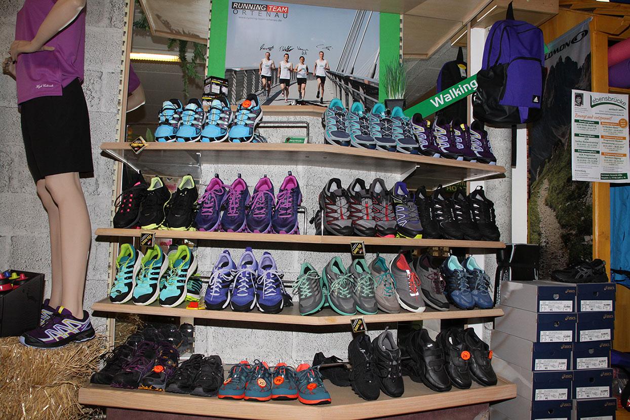 Sport Beck in Zell bietet Service für Läufer und alles um den Laufsport